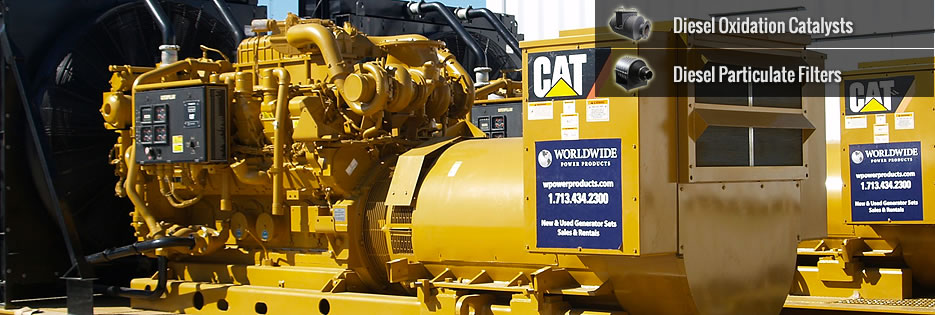 Caterpillar Catalytic Converters & Emission Control Systems